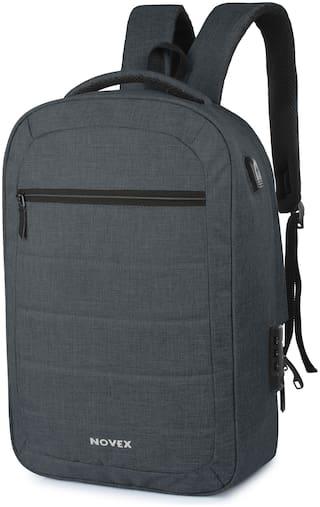 Novex Anti Theft Backpack Waterproof Laptop Backpack