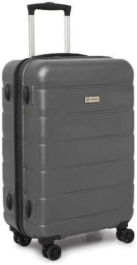 Novex Dublin Cabin Size Hard Luggage Bag ( Grey , 4 Wheels )