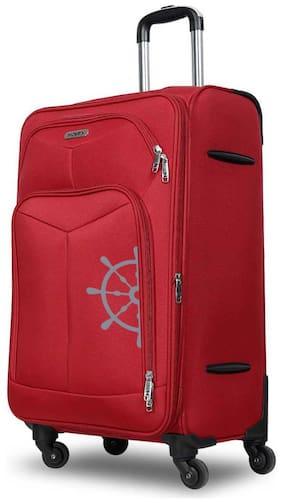Novex SOFT LUGGAGE Cabin Size Soft Luggage Bag ( Red , 4 Wheels )