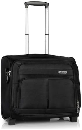 Novex Overnighter Trolley Small Size Overnighters Bag ( Black , 2 Wheels )