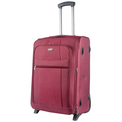 Novex Red Trolly Bag  Small Cabin Luggage