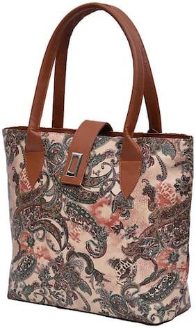 Paras Fashion Synthetic Women Handheld Bag - Multi