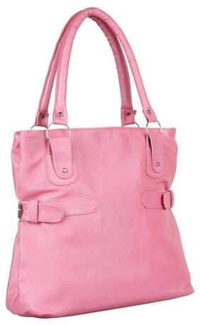 Paras Fashion Women Synthetic Others Handheld Bag - Pink