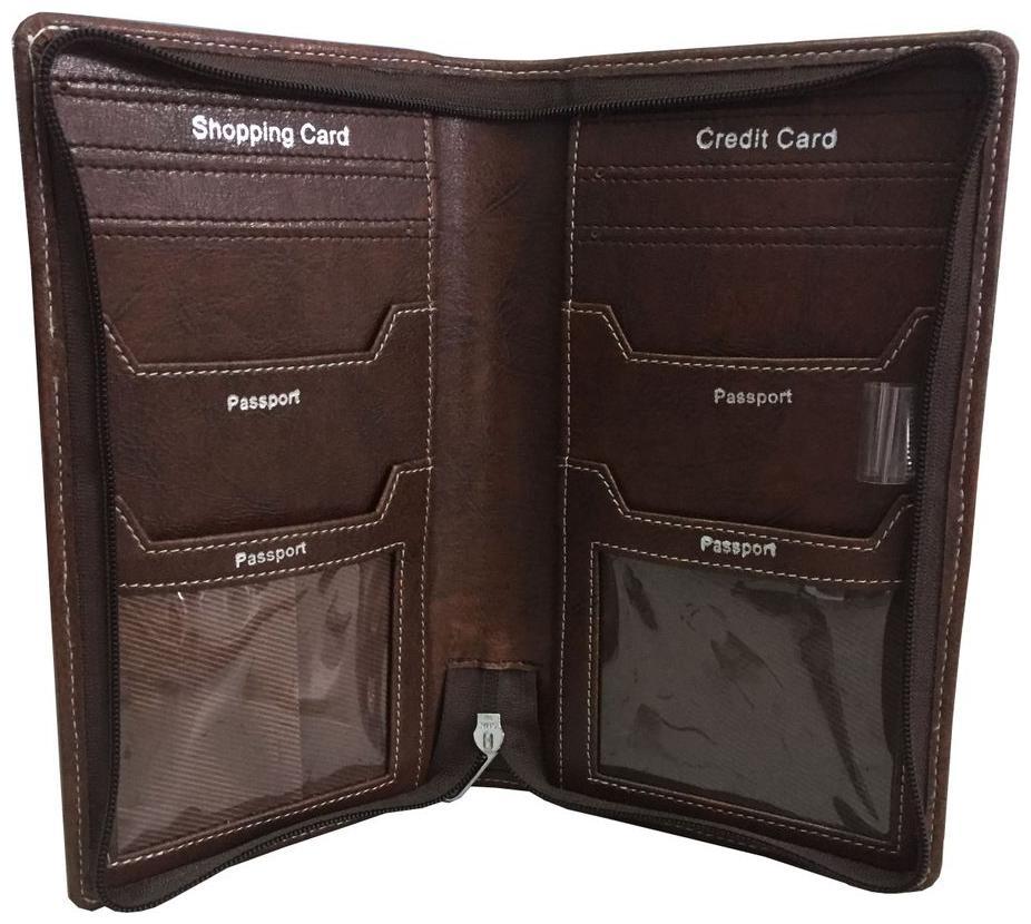 Cat Lamp Fat Multi-purpose Travel Passport Set With Storage Bag Leather Passport Holder Passport Holder With Passport Holder Travel Wallet