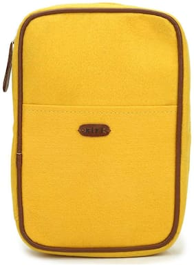 Passport Stationary Case - Yellow