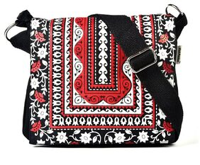 Pick Pocket Women Solid Canvas - Sling Bag Multi