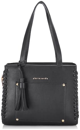 Pierre Cardin PU Women Satchel - Black