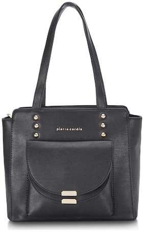 Pierre Cardin Women's Tote Handbag Black