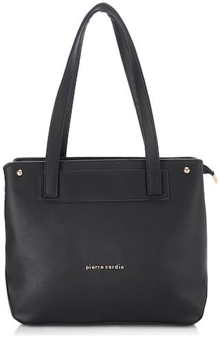 Pierre Cardin Women's Tote Handbag Black