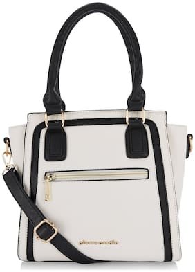 Pierre Cardin PU Women Satchel - White