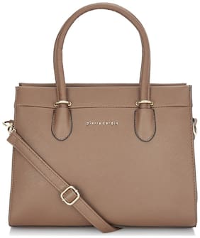 Pierre Cardin PU Women Satchel - Brown