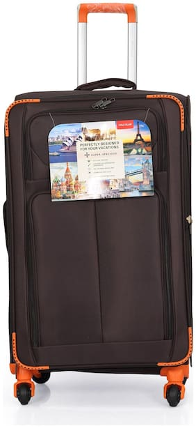 Polo Class LT-1130 Large Size Luggage Set ( Brown , 4 Wheels )