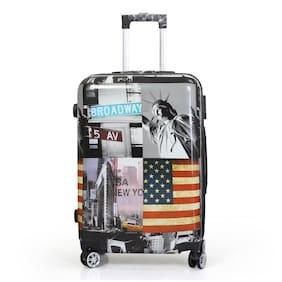Polo Class LT-1070 Large Size Luggage Set ( Black , 4 Wheels )