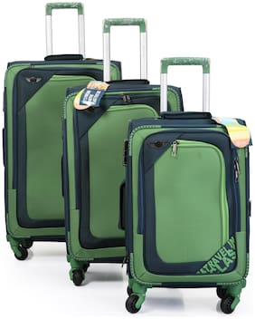 Polo Class LT-1101 Large Size Luggage Set ( Green , 4 Wheels )