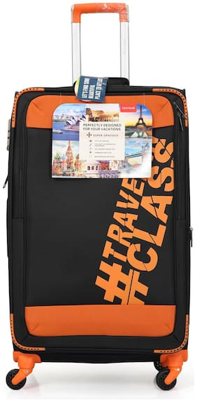 Polo Class LT-1133 Large Size Luggage Set ( Orange , 4 Wheels )