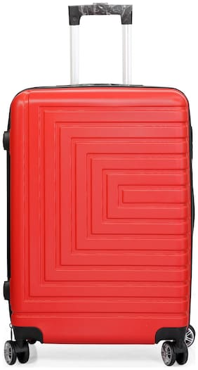 Polo Class LT-1053 Large Size Luggage Set ( Red , 4 Wheels )
