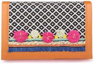 Desi Drama Queen Women Faux leather Wallet - Tan