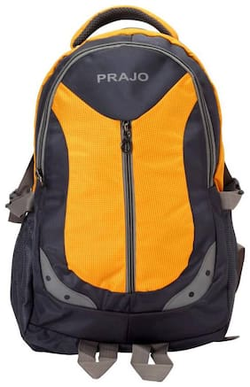 Prajo Pulse 1 Expendable 15.6 inch Laptop Backpack(Yellow)