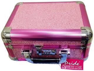 PRIDE STAR Women Faux Leather Vanity Case - Pink