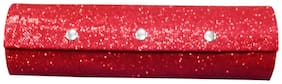 PRIDE STAR Women Faux Leather Vanity Case - Red