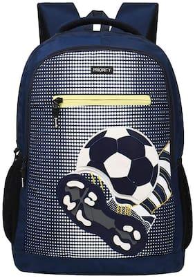 Priority Clash Navy Blue Backpack