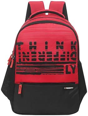 Priority Go Getters 002 Red & Black Backpack