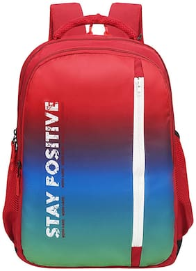 Priority Go Getters 020 Red - Multicolor Backpack