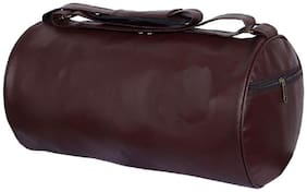 PROERA Faux leather Men Gym bag & Duffle bag - Brown