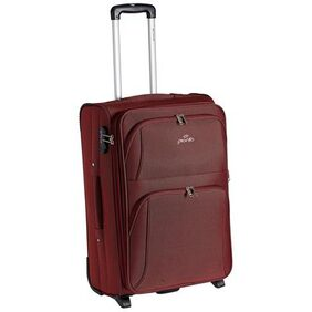 Pronto Red Polyester Strolley Bag