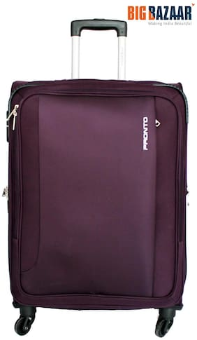 Pronto Space Plus 77 cm Soft Trolley (Purple)