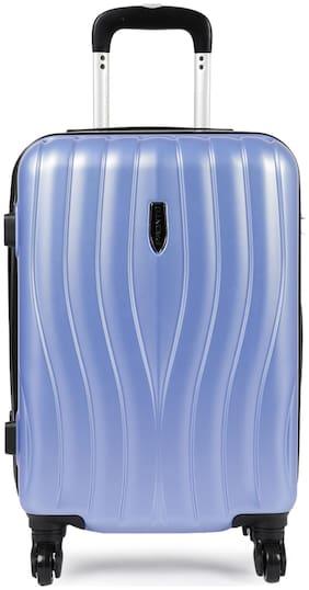 Pronto Cabin Size Hard Luggage Bag ( Blue , 4 Wheels )