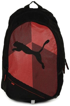 Puma Red Polyester Backpack