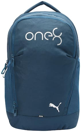 Puma Blue Polyester Laptop Backpack