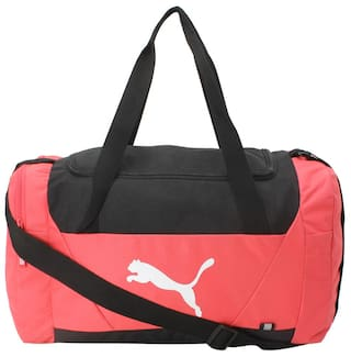8254e96115 Buy Puma Polyester Men Duffle Bag - Pink Online at Low Prices in ...