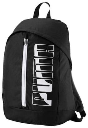 Puma Black Polyester Backpack