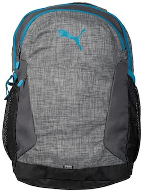 Puma Grey Polyester Backpack