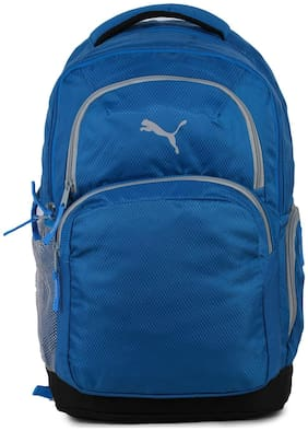 Puma Blue Polyester Backpack