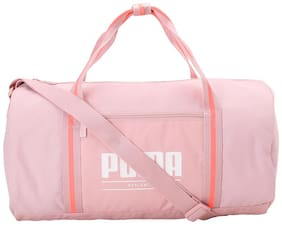 Puma Women Polyester Duffles & Gym Bags Pink