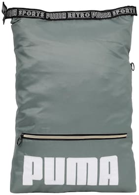 Puma Green Polyester Laptop Backpack