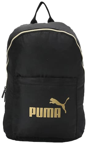 Puma Black Polyester Laptop Backpack