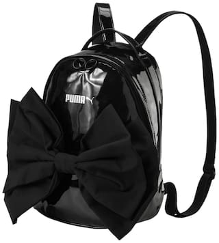 Buy Puma Women s Black Prime Archive Bow Backpack Online at Low ... 94c95b729dc7f