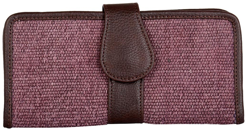 Rajrang Women Purple Canvas Wallet
