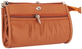 RAPIDCOSTORE_Brown Clutch for Women and Girl_RC-0006