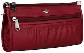RAPIDCOSTORE_Maroon Clutch for Women and Girl_RC-0005