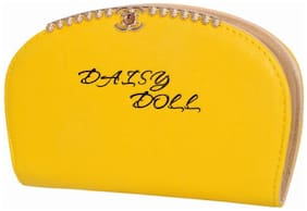Ratash Women Solid Canvas - Clutch Yellow