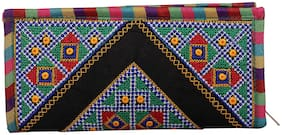 Ratash Black Cotton Tassle Bag