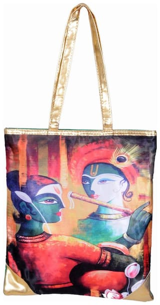 Ratash Women Solid Synthetic - Tote Bag Yellow