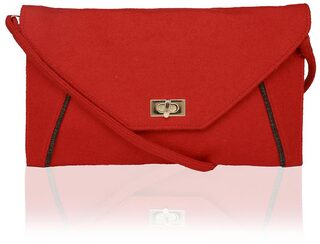 Lost & Found Women Solid Fabric - Sling Bag Multi