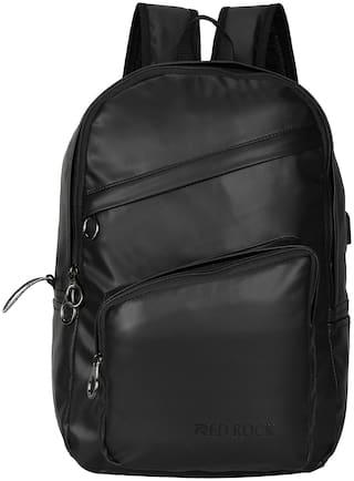 Red Rock RR-405 BLACK ITALIC ZIP Waterproof Laptop Backpack