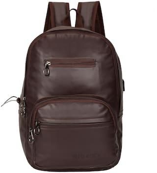 Red Rock RR-408-BROWN-3PKTS Waterproof Laptop Backpack